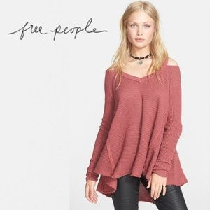 Free People Moonshine Cold Shoulder Sweater M